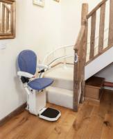 AmeriGlide Platinum Curved Stair Lift