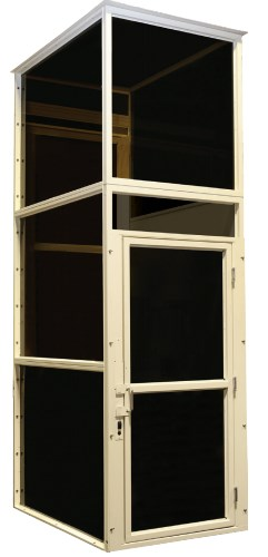 AmeriGlide Enclosed Vertical Platform Lift
