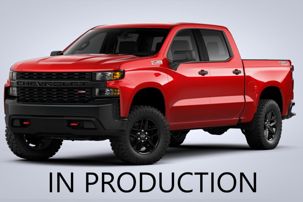 2020 CHEVROLET SILVERADO 1500 CUSTOM TRAIL BOSS 4WD